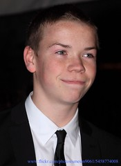 Will Poulter (iron_smyth48) Tags: red portrait man celebrity english film smile face shirt hair carpet star eyes tie event jacket narnia actor premiere awards celeb chronicles