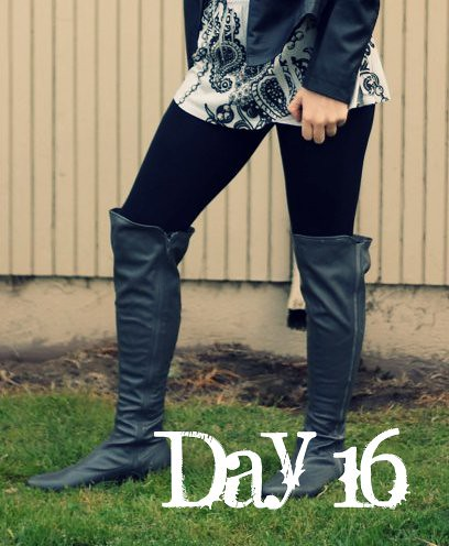 February Tights Challenge: Day 16