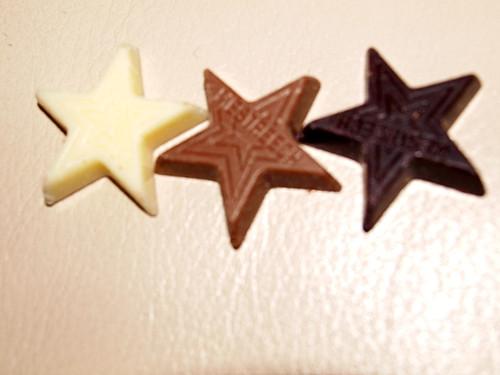 P&T Chocolate Stars