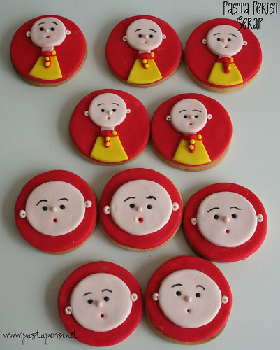 caillou cookie