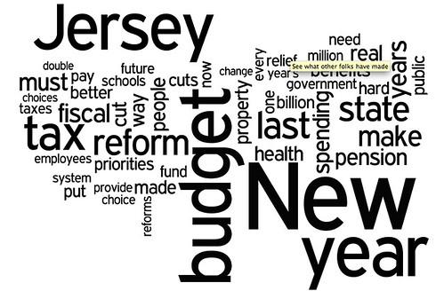 Word Cloud Christie Budget Address Feb 22, 2011