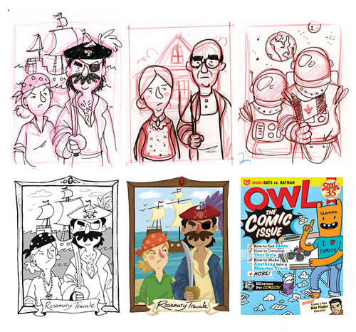Owl Magazine process