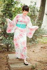20110217- (Austin . ) Tags: portrait taiwan kimono    humanfigure