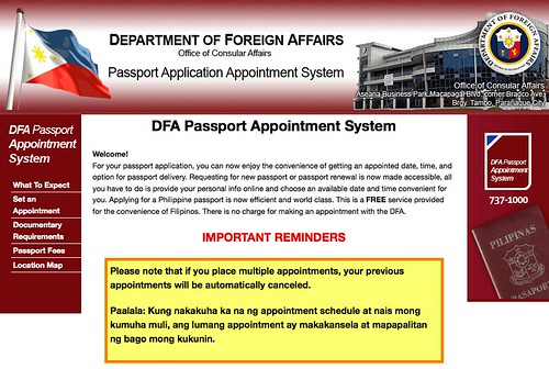 Passport Application Process