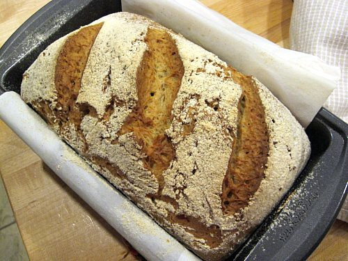 Gluten-Free Bread w/Sourdough Starter