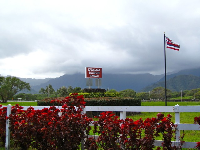 Kualoa Ranch, Kaneohe, Oahu, Hawaii