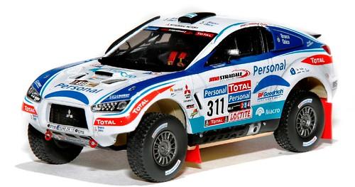 Vitesse Lancer Dakar 2010