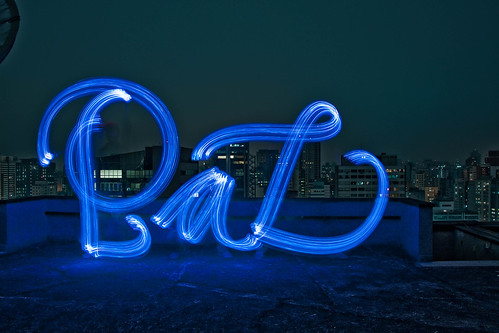 absolut glimmer light painting