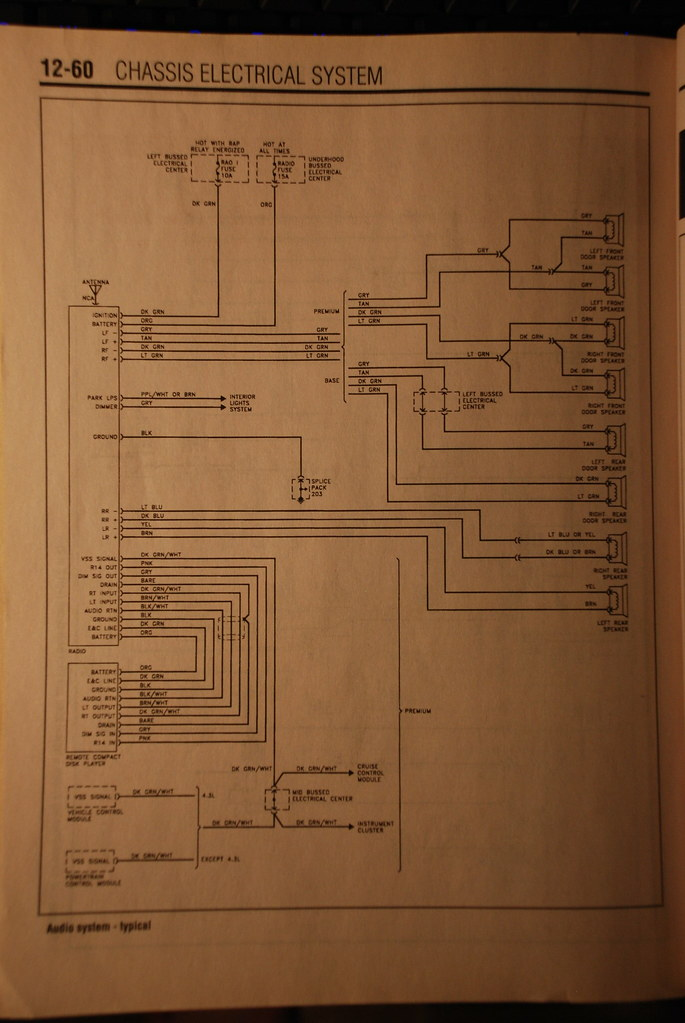 Here Is The Wiring Diagram For A Base Model Radio