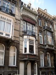 Architectenwoning Aimable Delune, Elsene (Erf-goed.be) Tags: geotagged brussel woning elsene archeonet architectenwoning geo:lat=50828 aimabledelune geo:lon=4369 vanelewyckstraat