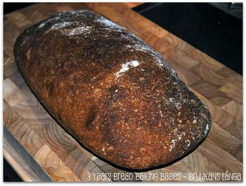 3 Years Bread Baking Babes - Brunkans Långa