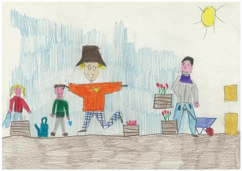 Disegna l'orto della scuola 2B 21