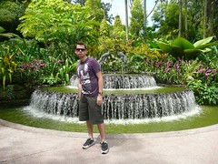 The Blue Steel Hits Singapore (yahnyinlondon) Tags: summer colour photo waterfall singapore honeymoon orchids storks bluesteel singaporebotanicgardens nationalorchidgarden singaporeorchidgarden bradleywright bradsbluesteelworldtour
