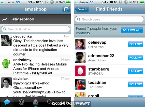 Twitter Update for iOS Adds Quick Bar, Location Based Trends