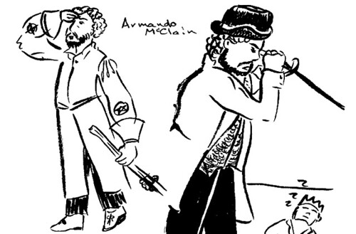 Shakespeare on Tour sketches 02