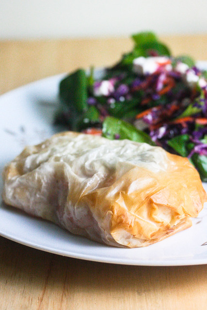Salmon in Phyllo (1 of 1)