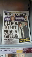 Petrol to hit £6.50 A Gallon