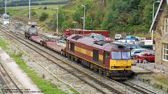 29/08/2002 - Peak Forest, Derbyshire. (53A Models) Tags: train buxton diesel derbyshire railway freighttrain ews class60 peakforest 60041
