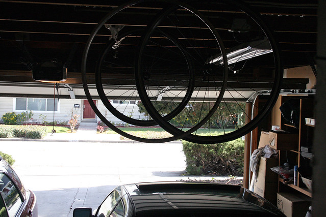 Storing wheels