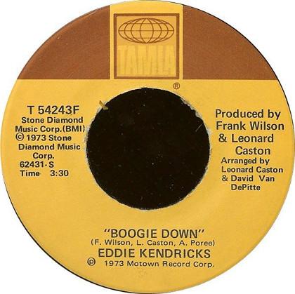 Eddie Kendricks - Boogie Down_BL