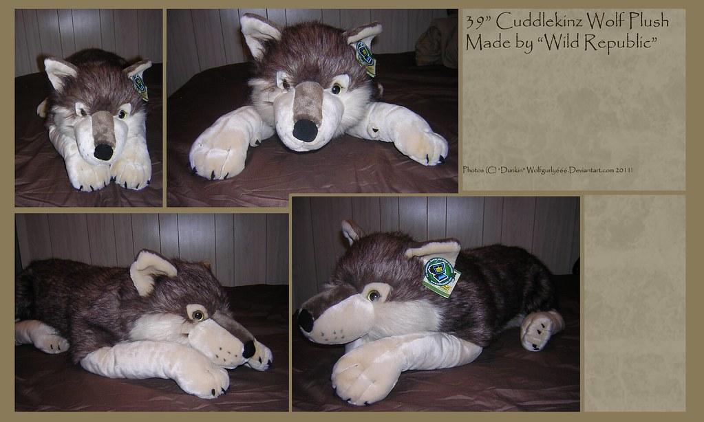 "30"" CuddleKinz Wolf"