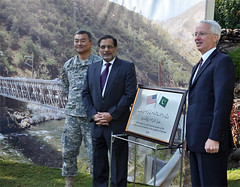 U.S.-Provided Bridges to Assist Flood Recovery in Khyber Pakhtunkhwa (USAID Pakistan) Tags: bridge pakistan usaid us embassy khyber isl