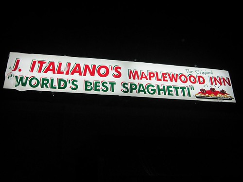J. Italiano's Maplewood Inn - World's Best Spaghetti