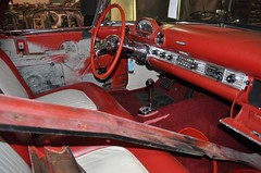 "1955 Ford Thunderbird • <a style=""font-size:0.8em;"" href=""http://www.flickr.com/photos/85572005@N00/5510545176/"" target=""_blank"">View on Flickr</a>"