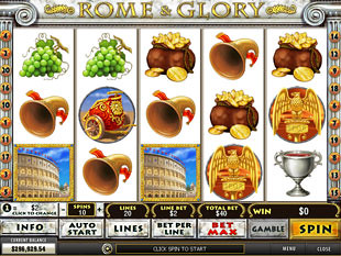 Rome and Glory slot game online review