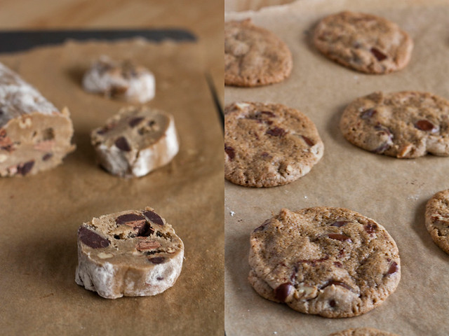 ... Garlic: The Chocolate Chip Heresy: Buckwheat Chocolate Chip Cookies