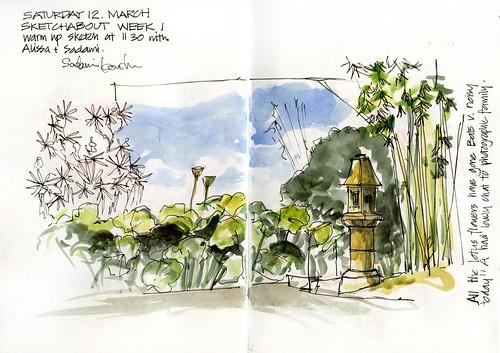 110312_02 Sketchabout1 Lotus Pond