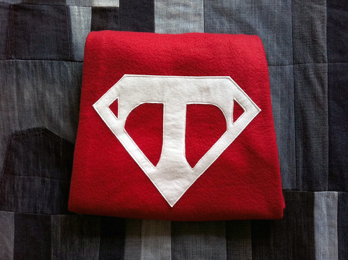 A little something for a superhero to slip into