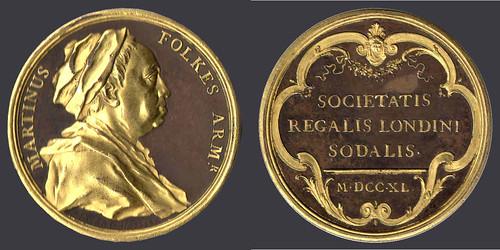 Martin Folkes medal