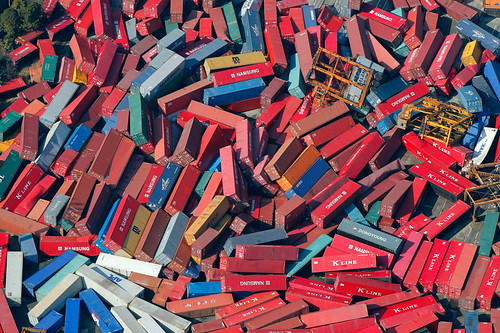 Containers Wreckage