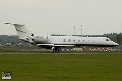 N785QS - 5157 - Private - Gulfstream G550 - Luton - 100518 - Steven Gray - IMG_2185