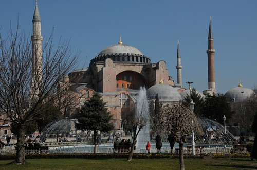 Haghia Sophia in the sunshine