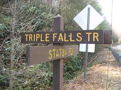 Hang a left at Triple Falls Trail