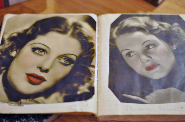 Old Hollywood Movie Stars, old magazines, magazines from the 1930's, DSC_0392