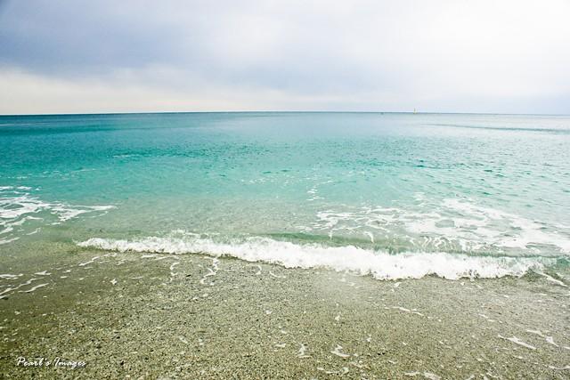 美麗的Monterosso海灘~