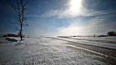 Blowing snow (Long Exp) (Northern Pike) Tags: snow blowing nd400 nd4