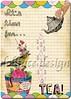 Miss Bird-Tea ~ Tea Time Collage (ms_mod) Tags: flowers bird art collage vintage scrapbook scrapbooking paper print design tea antique gothic victorian craft ephemera card download mug etsy teacup baroque digitalcollage artprint vintagepaper printable gifttag digitaldownload dollfacedesign digitalcollagesheet