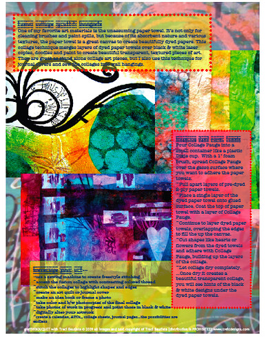 graffiti bouquet online workshop sample pdf workbook page