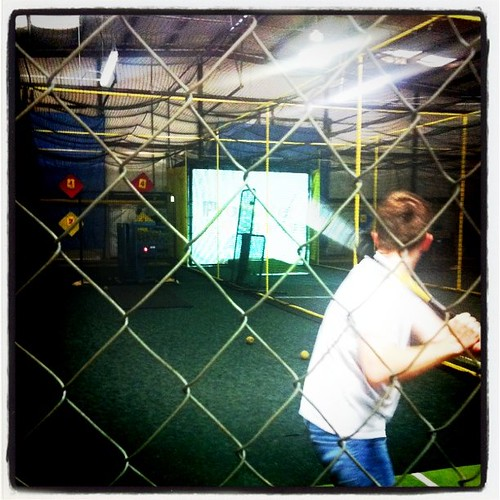 Batting Cages at MVP on Deck