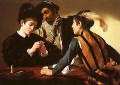 Die Falschspieler (Gemälde aus Wikipedia)
