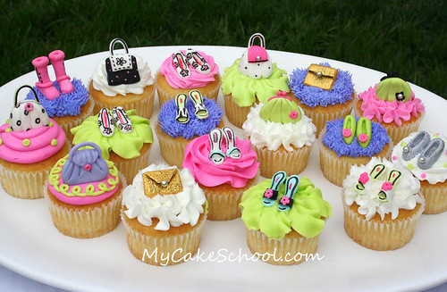 Purses & Shoes Cupcakes