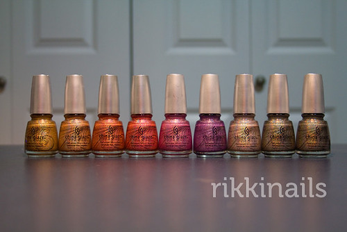 China Glaze Kaleidoscope Haul