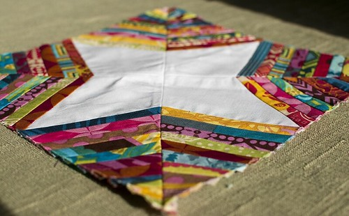 Sew Beautiful Bee - Spiderweb block for Elizabeth
