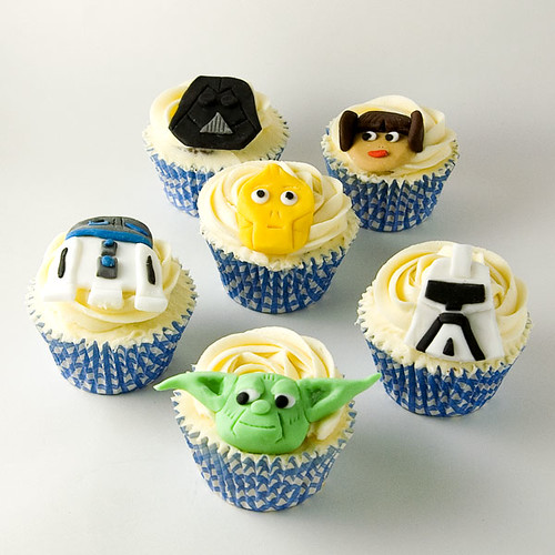Star Wars Cupcakes for my Brother