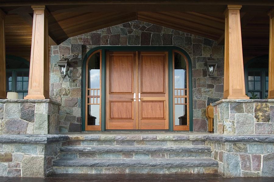 Van Tassell Granite® Roughly Squared Roughly Rectangular, Corinthian Granite® Special Order Steps