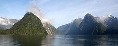 Milford Sound (Johan_Leiden) Tags: newzealand unesco milfordsound worldheritage mitrepeak fjordland fjordlandnationalpark
